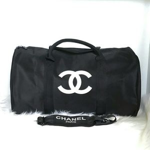 Authentic Chanel VIP gift duffle travel bag